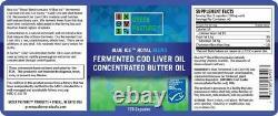 Blue Ice Royal Butter Oil / Mélange D'huile De Foie De Morue Fermentée (paquet De 2)