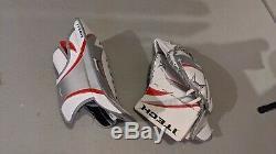 Brand New Adult Senior Sr Matching Itech Hockey Sur Glace Gardien De But Gants & Blocker
