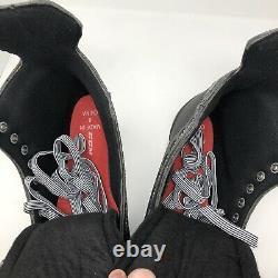 CCM Custom 01 Patinage De Hockey Sur Glace Hommes Taille 8 Noir Rouge