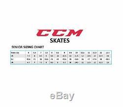 CCM Hockey Super Punaises Taille Skates Principale, Patins À Glace Professionnelle Tout Neuf