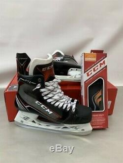 CCM Hockey Sur Glace Jetspeed Ft1 Patins Haute, Taille Skate 11 / Us Pointure 12.5