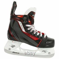 CCM Hockey Sur Glace Jetspeed Patins Taille Haute, Patins À Glace Professionnel