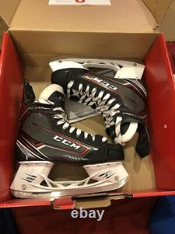 CCM Jetspeed Ft370 Senior Ice Skates Taille 7.5 Nouveau Dans La Boîte