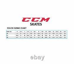 CCM Jetspeed Ft380 Patins De Hockey Sur Glace Taille Senior, Patins À Glace De Niveau Moyen