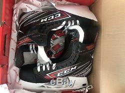 CCM Jetspeed Ft480 Hockey Sur Glace Patins Principal Nous 13.5