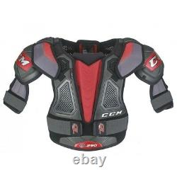 CCM Quicklite Qlt 290 Épaulettes Taille Senior, Protecteur D'épaule De Hockey Sur Glace