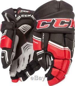 CCM Quicklite Qlt Gants Senior De Hockey Sur Glace, Gants Inline Hockey