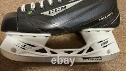 CCM Ribcor 46k Pump Patins De Hockey Sur Glace Taille Senior 10, À Peine Utilisé, Aiguisé