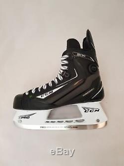CCM Ribcor 50k Pompe Pro Stock Hockey Sur Glace Patins Taille Haute, Ice Skates Pro