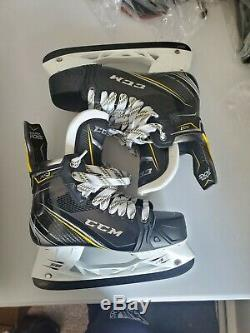 CCM Super Punaises As1 Hockey Sur Glace Patins Principale Taille 7ee Avec Bladetech Afterburner