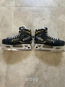 CCM Super Tacks Modèle 9380 Gardien De Hockey Sur Glace Patins Nouvelle Taille Senior 8.5