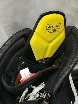 CCM Supertacks As1 Pantalons De Hockey Sur Glace Noir Taille Senior Petit Noir