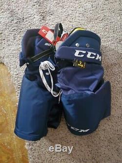 CCM Tacks 9080 Pantalon De Hockey Sur Glace Bleu Senior Grande