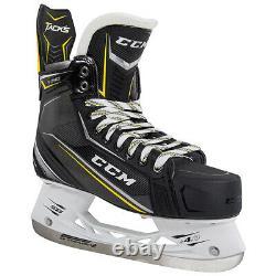 CCM Tacks 9090 De Hockey Sur Glace Patins Taille Haute, Patins À Glace Professionnel