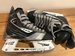CCM U+ 12 Senior Taille 8.5 D Patins De Hockey Sur Glace E Pro