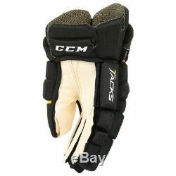 CCM Ultra Punaises Hockey Sur Glace Gants Senior
