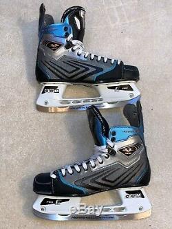 CCM Vector 10.0 Hockey Sur Glace Patinage Taille Senior 12 D