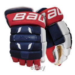 Gants De Hockey Sur Glace Bauer Nexus S18 2n Pro Marine Principal / Rouge / White14 Eishockey Ha