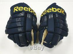 Gants De Hockey Sur Glace Seniors Reebok 852 Pro Sr. 14 St. Louis Blues Nouveau