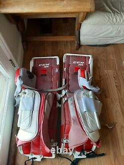 Gardien Leg Pads CCM Premier R1.9 34+1 Letevre Hockey Sur Glace Et Genouillères Senior