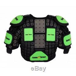 Gator Armor Ga10 Protège-épaules Taille Haute, Hockey Sur Glace Épaule Protecteur