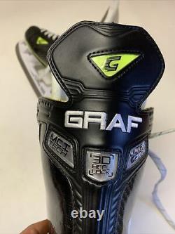 Graf G9035 Patins De Hockey Sur Glace Senior Sr 8 D Régulier Nouveau Swiss Made