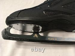Jackson Ultima Mark II Softec Elite Patins Sur Glace Noir Hommes Taille 10 Nouveau Avec Boîte