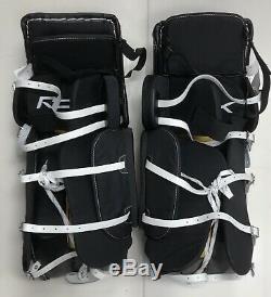 Jambières De Gardien De But De Hockey Sur Glace Reebok 8k Taille 33 Senior Sr Noir