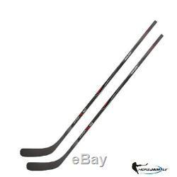 Lot De 2 Bâtons De Hockey Sur Glace Bauer Vapor X90 Griptac Senior Hokejam. LV