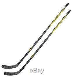Lot De 2 Bauer Supreme 1s Saison 2017 Bâtons De Hockey Sur Glace Senior Flex