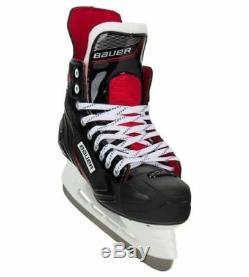 New Bauer Nsx Hockey Sur Glace Patins Mens (r) Fit Junior Et Senior Libres Gardes Lame