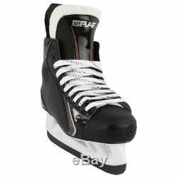 New Graf Pk4400 Peakspeed taille Haute 11,5 E Larges Patins De Glace Sr Ee Masculin De Hockey