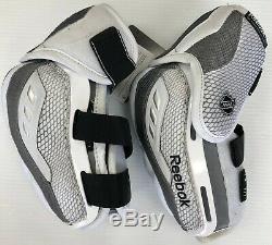 New Reebok 20k Pro Stock Coudières LNH Haute Taille XL Sr Pad De Hockey Sur Glace Sz Rare