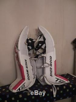 New Sherwood T90 Pro Gardien De But Senior De Hockey Sur Glace Jambières