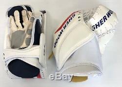 New Sherwood T95 D2 Hockey Sur Glace Gardien De But Blocker Gant Set Sr Reg Main Gauche Catcher