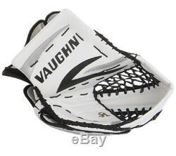 New Vaughn 7490 Receveur De Gardien De But De Hockey Senior Glace Gant Reg Argent Blanc Noir