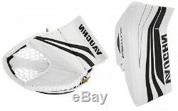 New Vaughn Slr Bloqueur De Gardien Pro / Gant De Plein Droit Sr. Senior De Hockey Sur Glace Ventus