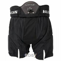 New Vaughn Ventus Slr Pantalon De Gardien Pro Haut De Grand But De Hockey Sur Glace Sr Noir 38