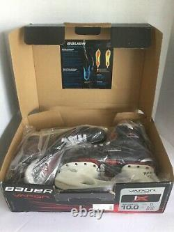 New-in-box 17 Bauer Vapor 1x Patins De Hockey Sur Glace Senior 10 D 1050359