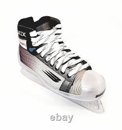 Nike Bauer Vapor XIX Gardien De But Patins Taille Senior, Hockey Sur Glace