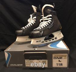 Nouveau Bauer Supreme One. 4 11r Taille Us 12.5 Modèle # 1039570 Patins De Hockey Sur Glace