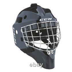 Nouveau CCM 1.5 Senior Ice Hockey Goalie Face Mask One Size Fits All Adult Helmet Sr