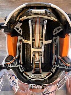 Nouveau CCM Fitlite 3ds Principal De Hockey Sur Glace Casque Moyen M Blanc