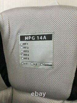 Nouveau CCM Gardien Pro Hockey Sur Glace Stock Pantalon Noir Hpg14a Fit 3 +1 XL 36 38 Haut