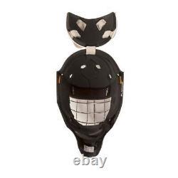 Nouveau CCM Gfl Pro Senior Ice Hockey Goalie Face Mask Senior Small White Helmet Sr