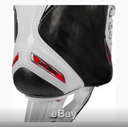 Nouveau CCM Rbz Pro White Senior Hockey Sur Glace Taille 12.0 D Hommes Patins 12 Hommes De Skate Sr