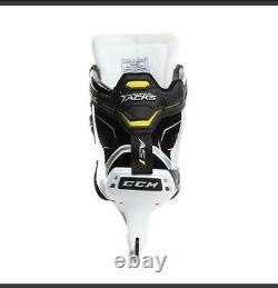 Nouveau CCM Super Tacks As1 Gardien Hockey Sur Glace Patins Taille 8,5 D Largeur Skate Sr