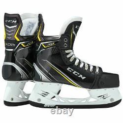 Nouveau CCM Super Tacks As1 Joueur De Hockey Sur Glace Patins Senior 10.5 Ee Large Largeur Skate