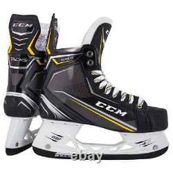 Nouveau CCM Tacks 9090 Joueur De Hockey Sur Glace Patins Senior 12 D Patin De Largeur Régulière Sr