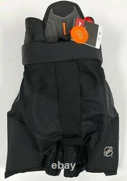 Nouveau CCM Tacks Pro Stock NHL Pants Taille Noire Grande Senior Sr Tapis De Hockey Sur Glace Tk